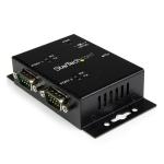StarTech.com ICUSB2322I cable interface/gender adapter 2 x DB-9 USB 2.0 B Black