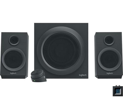Logitech Z333 2.1channels 40W Black speaker set