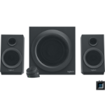 Logitech Z333 2.1channels 40W Black speaker setZZZZZ], 980-001201