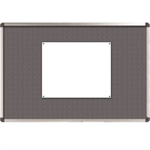 Nobo Classic Felt Noticeboard Grey 1800x1200mm