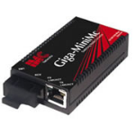 IMC Networks Giga-MiniMc, TX/SX-MM850-SC + Adapter network media converter