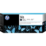 HP F9K05A (745) Ink cartridge black matt, 300ml