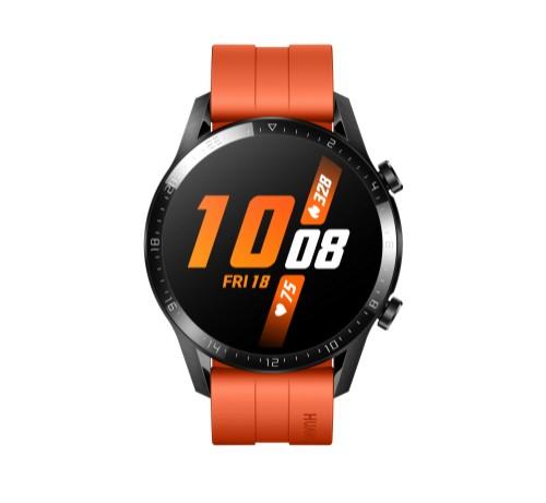 "Huawei WATCH GT 2 smartwatch AMOLED 3.53 cm (1.39"") Black GPS (satellite)"