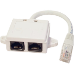 Cablenet 22 2138 White network splitter