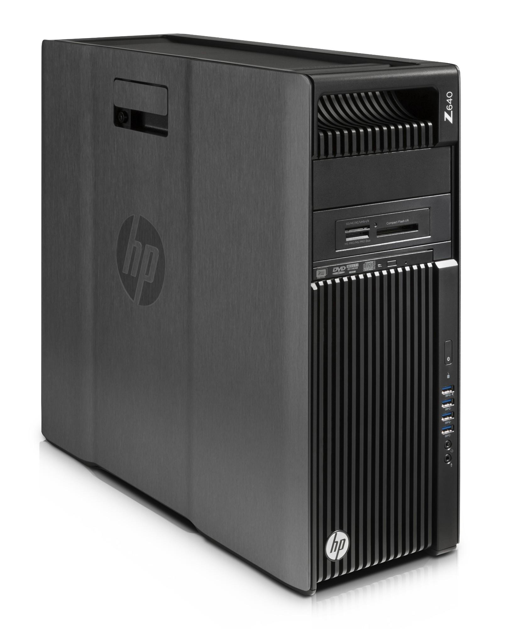 HP 640 2.4GHz E5-2620V3 Mini Tower Black Workstation