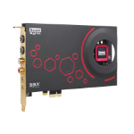 Creative Labs Sound Blaster ZxR Internal 5.1 channels PCI-E