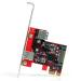StarTech.com 2 port PCI Express SuperSpeed USB 3.0 Card with UASP Support - 1 Internal 1 External PEXUSB3S11