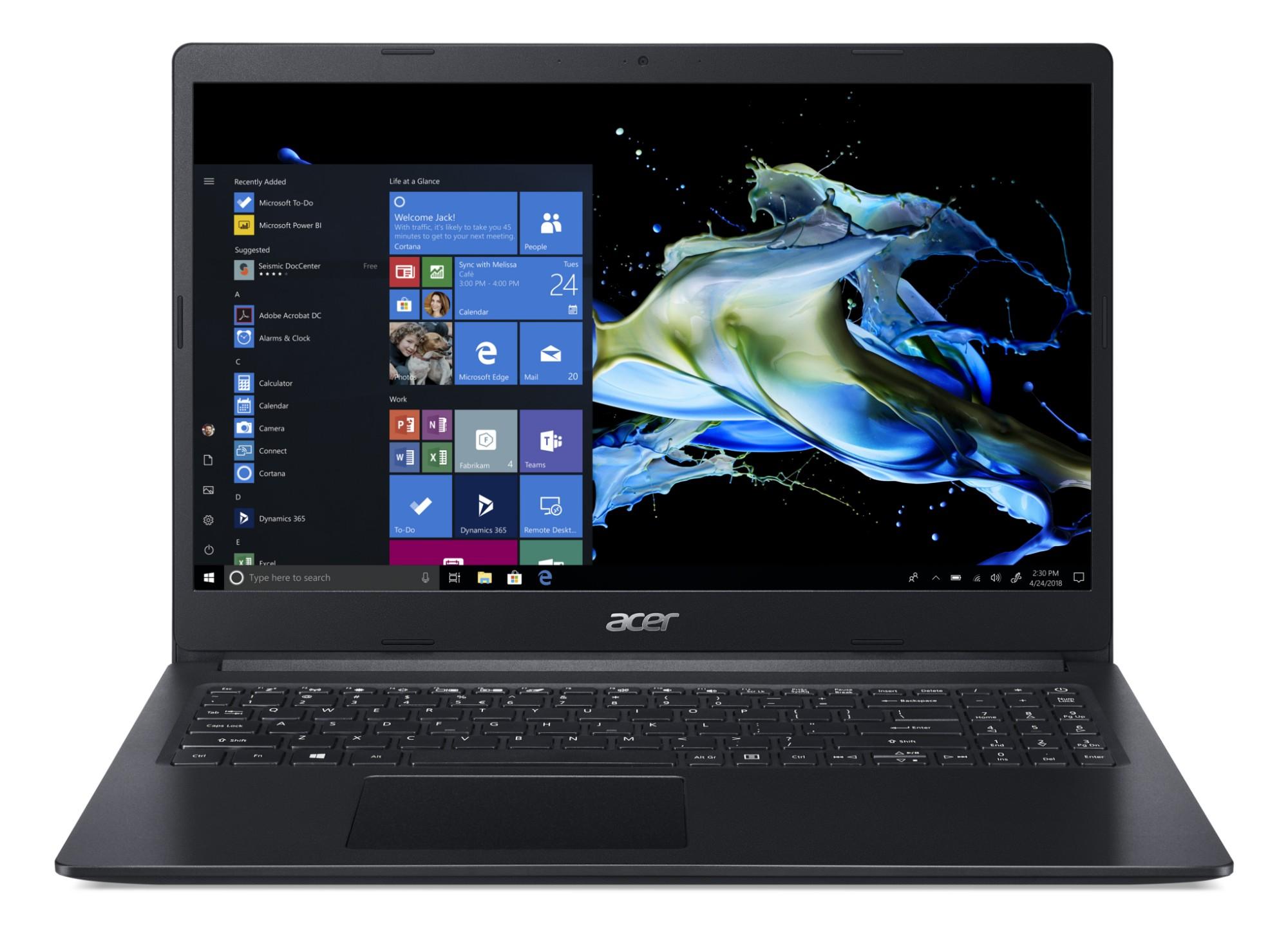 Acer Extensa 15 EX215-31-P5EQ Notebook Black 39.6 cm (15.6