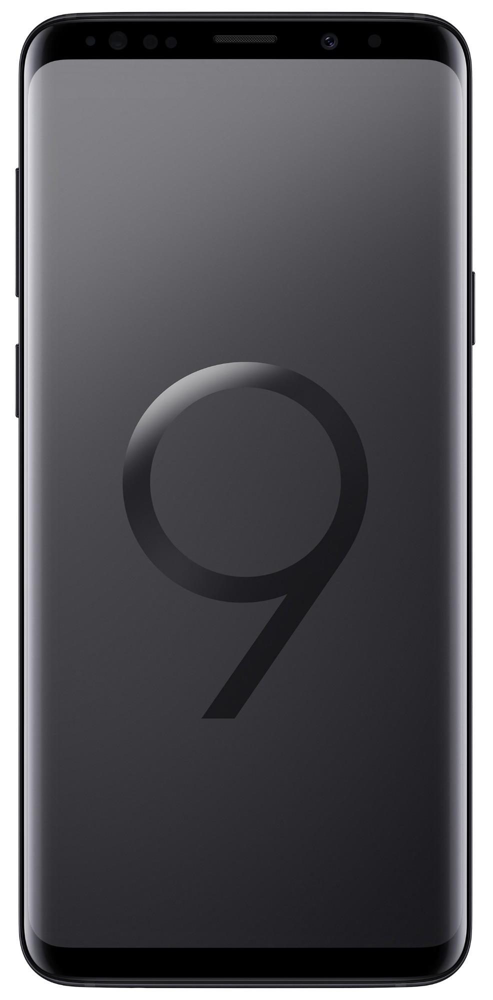 "Samsung Galaxy S9+ SM-G965F 6.2"" Single SIM 4G 6GB 128GB 3500mAh Black SM-G965FZKEBTU"