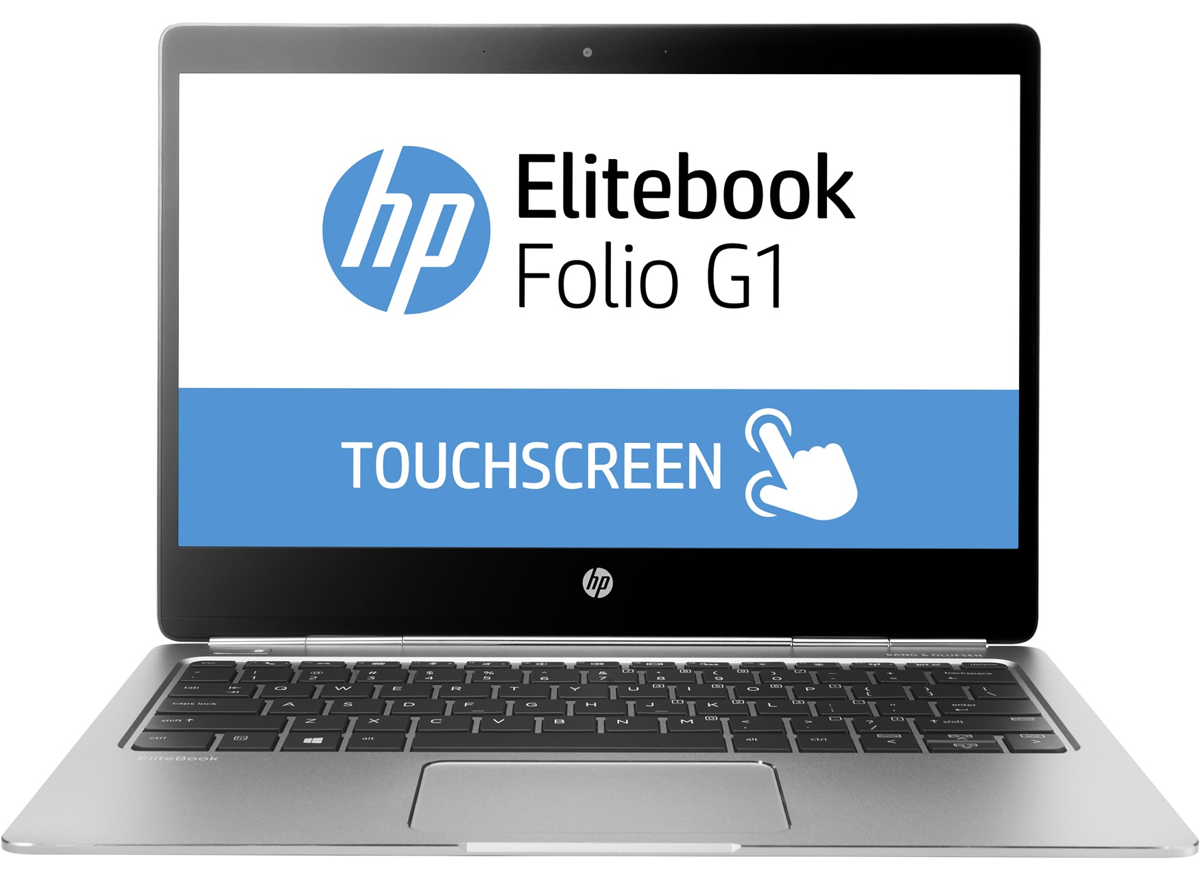 "HP EliteBook Folio G1 1.2GHz m7-6Y75 12.5"" 3840 x 2160pixels Touchscreen Silver Notebook"