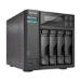 Asustor AS6404T NAS Mini Tower Ethernet LAN Black