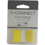 Q-CONNECT Q CONNECT PAGE MARKER 1IN 50 SHTS YELLOW