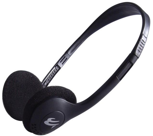 Headset + Clip-on Microphone + Foam Ear Pads
