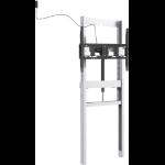 "Vision VFM-FM12X6 110"" Fixed flat panel floor stand Grey flat panel floorstand"