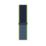 Apple MXMV2ZM/A smartwatch accessory Band Blue, Lime Nylon