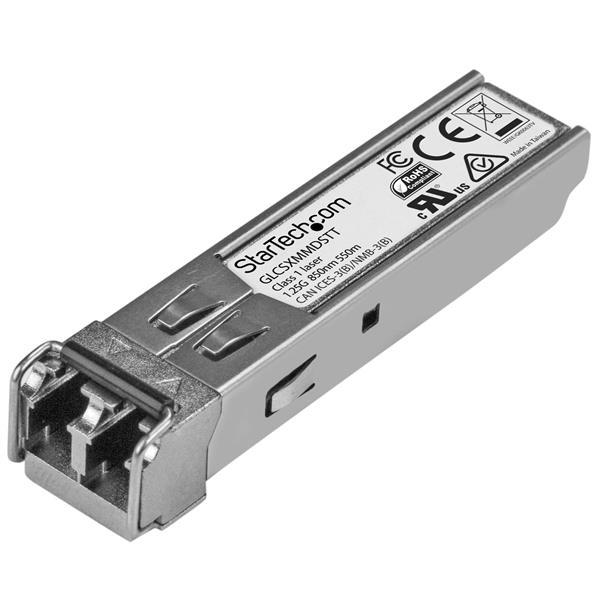 StarTech.com Gigabit Fiber SFP Transceiver - Cisco GLC-SX-MMD Compatible - MM LC - TAA Compliant