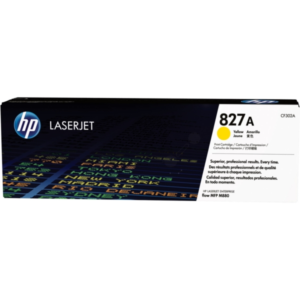 HP CF302A (827A) Toner yellow, 32K pages