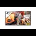 "Sony FWD-43X70H/T pantalla de señalización 108 cm (42.5"") LED 4K Ultra HD Pantalla plana para señalización digital Negro Procesador incorporado Linux"
