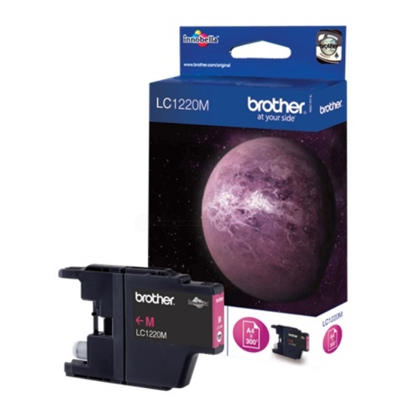 Brother LC-1220M Ink cartridge magenta, 300 pages LC1220M