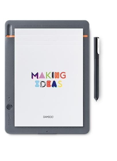 Wacom Bamboo CDS-610S tableta digitalizadora Gris, Naranja