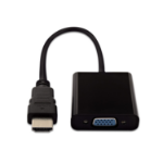 V7 CBLHDAVBLK-1E video kabel adapter HDMI VGA Zwart