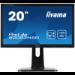 "iiyama ProLite B2083HSD-B1 LED display 49.5 cm (19.5"") HD+ Flat Matt Black"