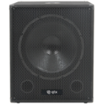 Qtx 170.751UK subwoofer 150 W Active subwoofer Black