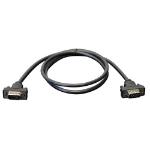"Tripp Lite P502-003-SM coaxial cable 35.8"" (0.91 m) VGA (D-Sub) Black"