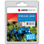 AgfaPhoto APHP301XLSET ink cartridge Black,Cyan,Magenta,Yellow Multipack 2 pc(s)