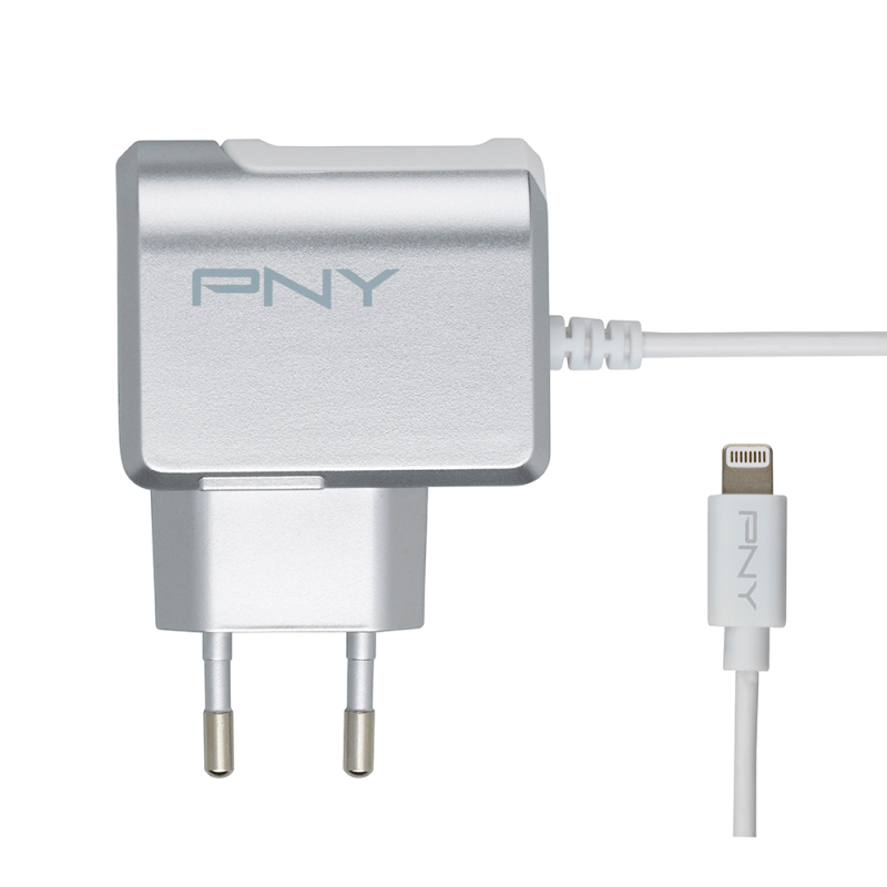 PNY P-AC-LN-SEU01-RB mobile device charger Indoor Grey,White