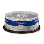 Verbatim 98909 blank Blu-Ray disc BD-R 25 GB 25 pcs