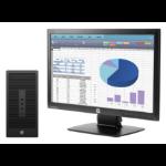 HP 200 285 G2 MT + ProDisplay P202 3.1GHz A8 PRO-7600B Micro Tower Black PC