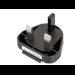 ASUS 04G26B001200 Type D (UK) Type D (UK) Black power plug adapter