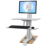 Ergotron WorkFit-S Multimedia stand White PC