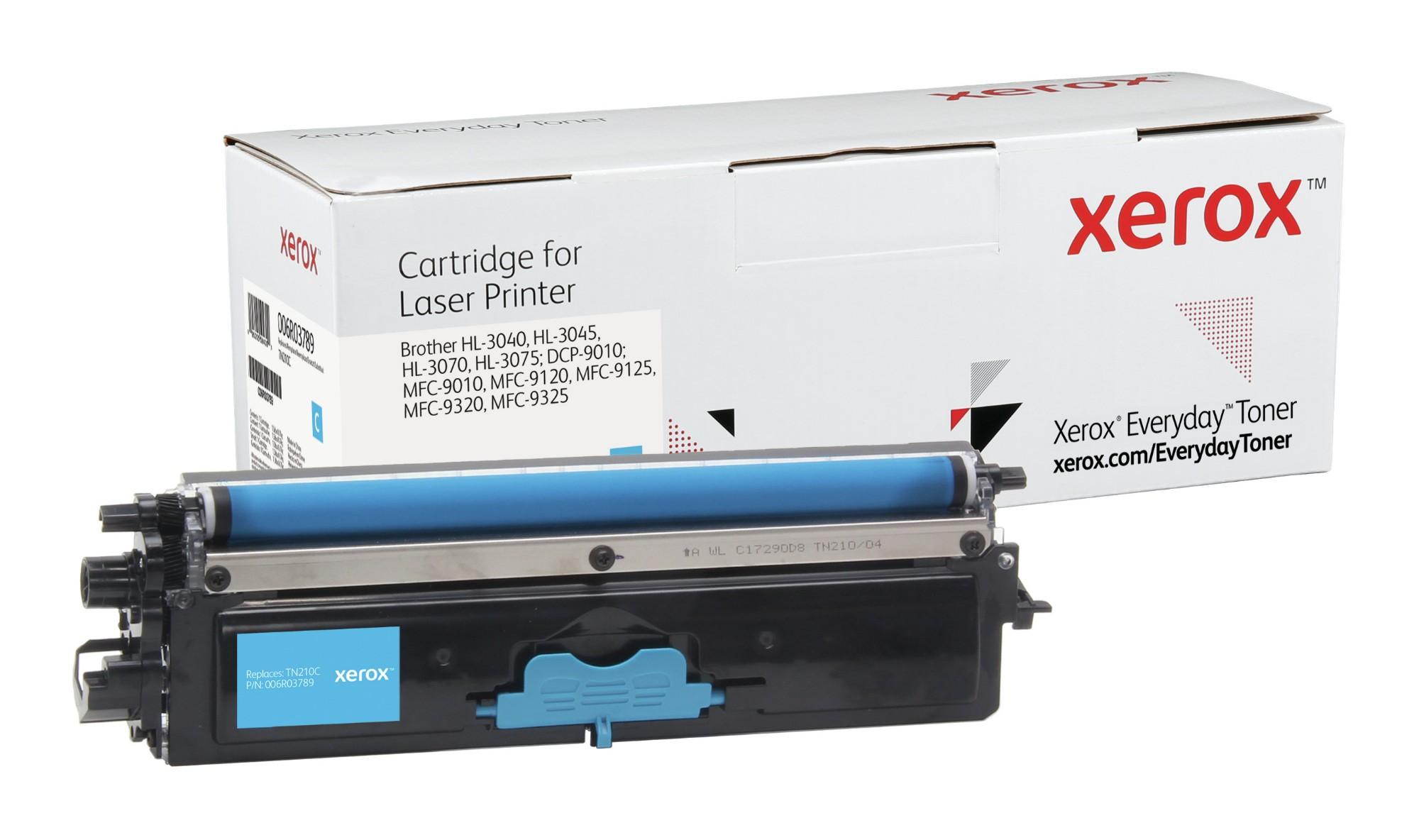 Xerox Tóner de Rendimiento estándar Cian Everyday, Brother TN230C equivalente de , 1400 páginas