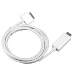 4XEM 4X30PINHDMIM Apple 30-p HDMI White mobile phone cable