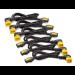 APC C13 - C14 (90 Deg), 1.8m, 6-pack Black,Yellow 1.83 m C13 coupler C14 coupler