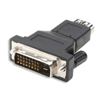 Astrotek HDMI/DVI-D Adapter HDMI FM DVI-D M Black