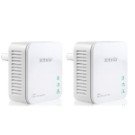 Tenda P200 Twin Pack 200Mbit/s Ethernet LAN White 2pc(s) PowerLine network adapter