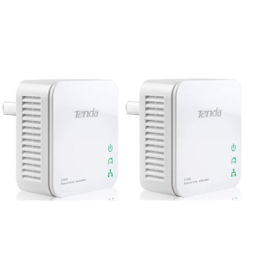 Tenda P200 Twin Pack 200Mbit/s Ethernet LAN White 2pc(s) PowerLine network adapter