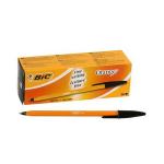 BIC Orange Fine Black Stick ballpoint pen 20 pc(s)