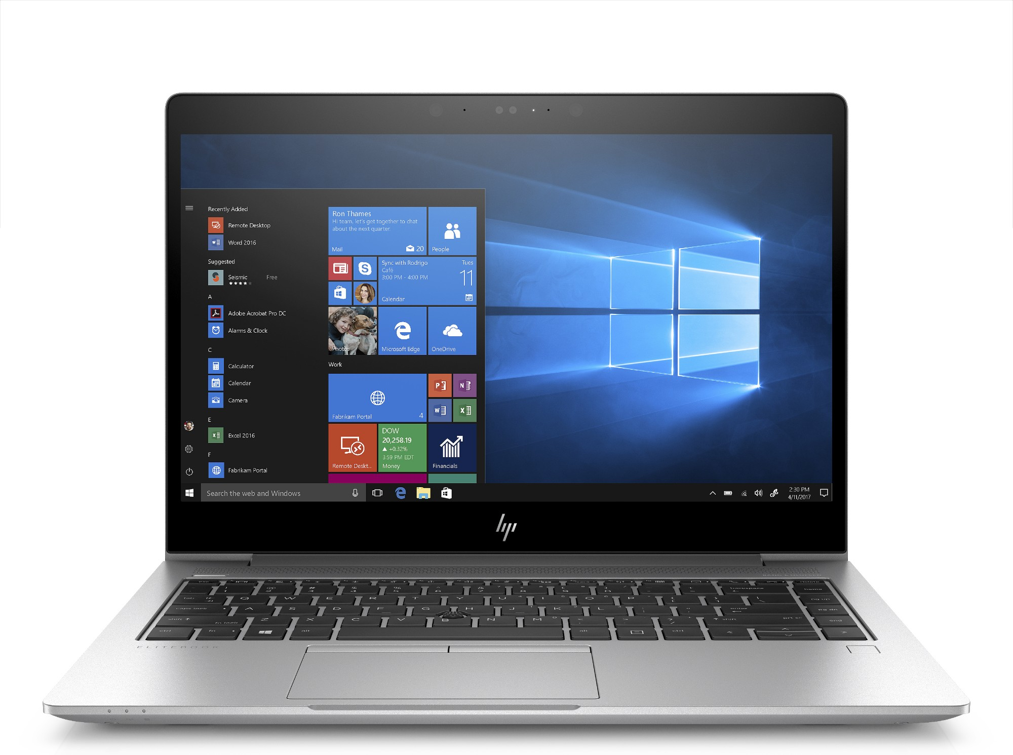 "HP EliteBook 840 G5 Silver Notebook 35.6 cm (14"") 1920 x 1080 pixels 8th gen Intel® Core™ i7 16 GB DDR4-SDRAM 512 GB SSD Windows 10 Pro"