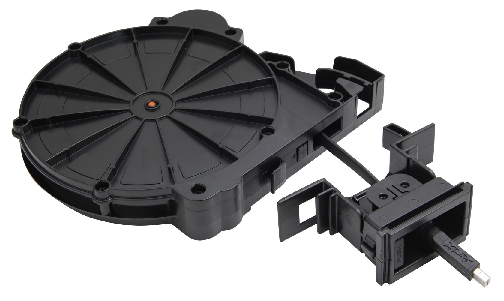 AMX HPX-AV102A-MDP-R 1.52 m Mini DisplayPort DisplayPort Black