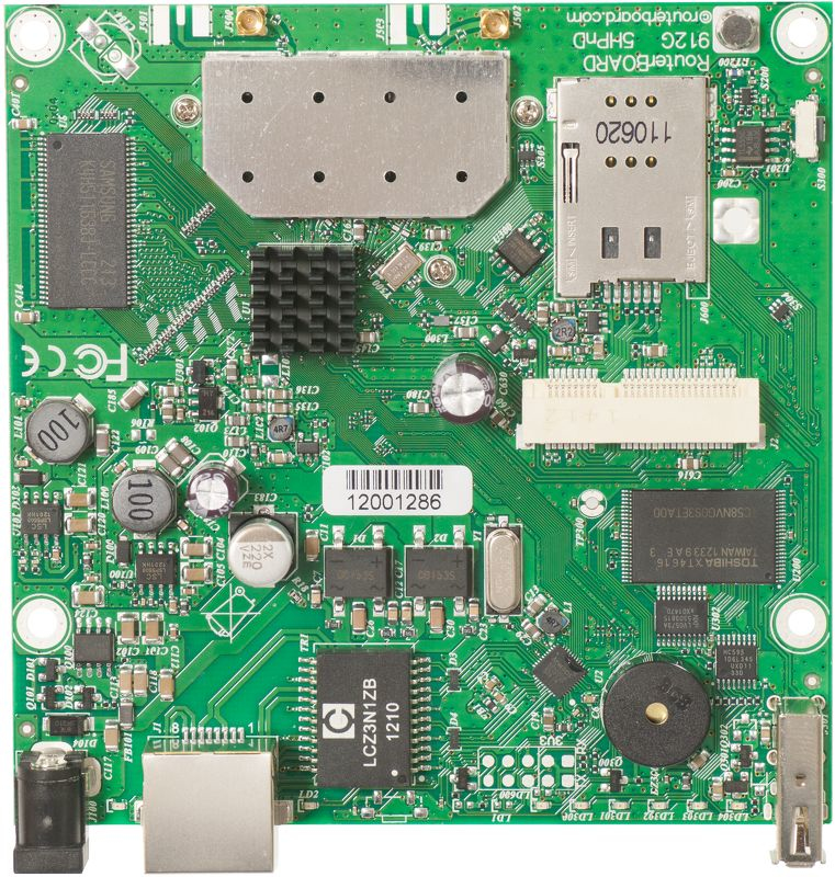 Mikrotik RouterBOARD 912UAG with 600Mhz
