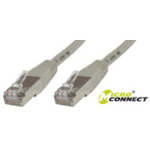 Microconnect CROSSED SSTP CAT6 2M 2m Grey networking cable