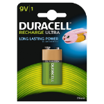 Duracell Ultra 9V Rechargeable battery