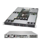 Supermicro SuperServer 1028GR-TR LGA 2011-v3 Rack (1U) Black
