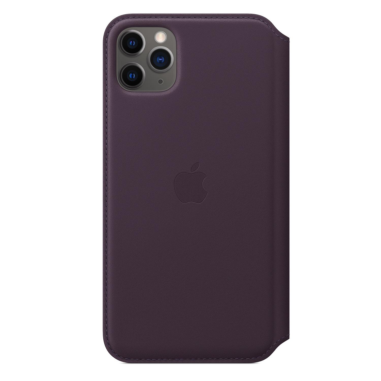 "Apple MX092ZM/A mobile phone case 16.5 cm (6.5"") Folio Aubergine"