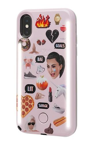 "LuMee LD-IP8KMJI-MP mobile phone case 11.9 cm (4.7"") Cover Multicolor"