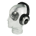 Lindy Cancelling Headphones Supraaural Black